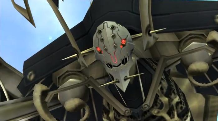 Xenoblade Novelisation 006 - Mechon Face