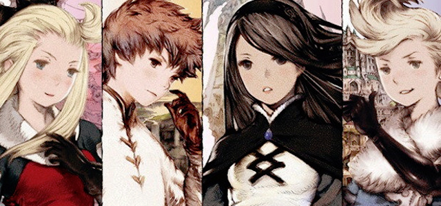 Bravely Default Review - Characters