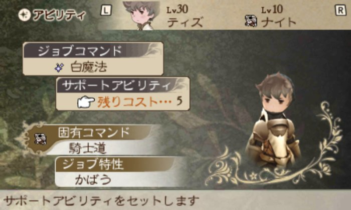 Bravely Default Review - Skills