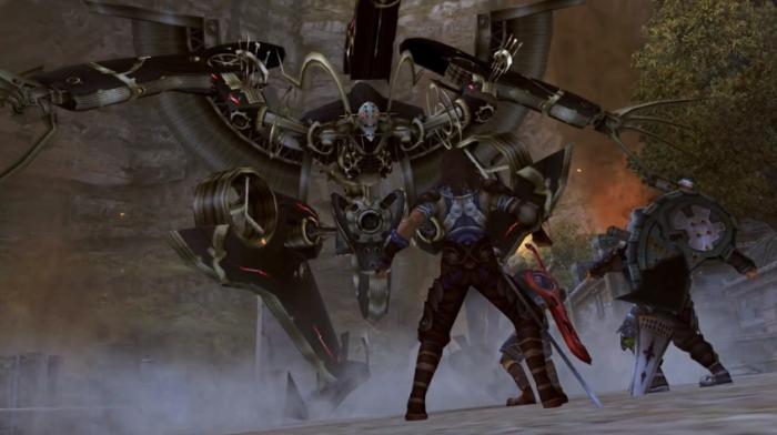 Xenoblade Novelisation 009 - Metal Face Landing
