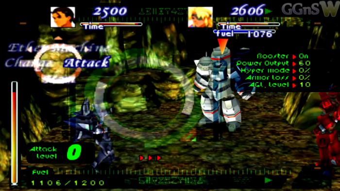 Xenogears Review - Gear Battle