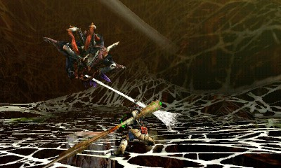 Monster Hunter 4 Ultimate - Beasts - Nerscylla Swing