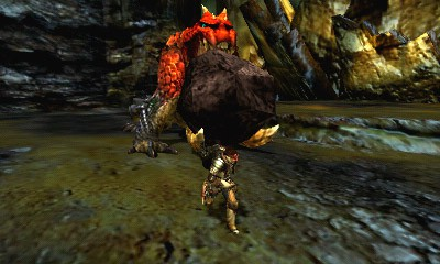 Monster Hunter 4 Ultimate Beasts - Tetsucabra -Boulder
