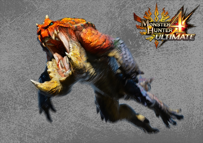 Monster Hunter 4 Ultimate Beasts - Tetsucabra -Leaping
