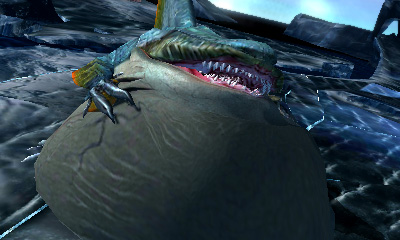 Monster Hunter 4 Ultimate - Beasts - Zamtrios Inflated