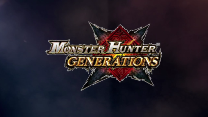 Monster Hunter Generations - Logo