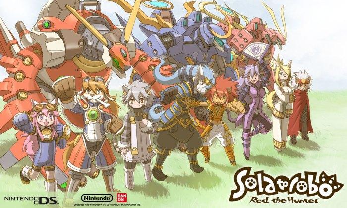 Solatorobo Review - Characters