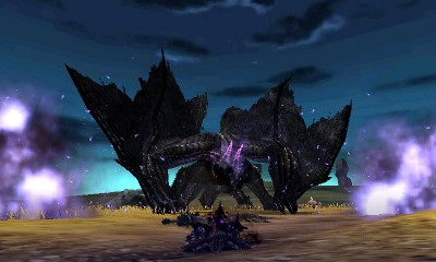 Monster Hunter 4 Ultimate Beasts - Gore Magala - Blast 3