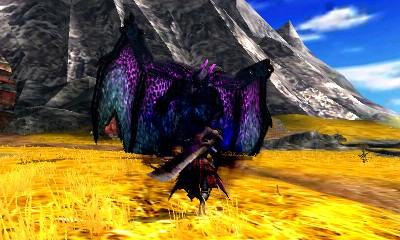 Monster Hunter 4 Ultimate Beasts - Gore Magala - Entering Frenzy