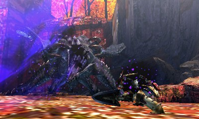 Monster Hunter 4 Ultimate Beasts - Gore Magala - Projectile
