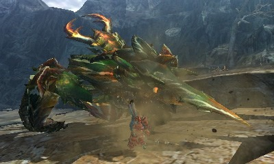 Monster Hunter 4 Ultimate Beasts - Seltas Queen - Charge