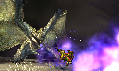 Monster Hunter 4 Ultimate - Beasts - Shagaru Explosion