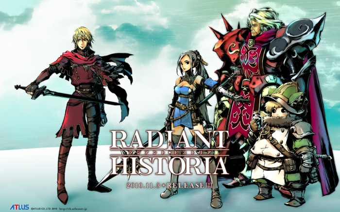 Radiant Historia Review - Characters