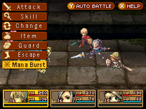 Radiant Historia Review - Mana Burst