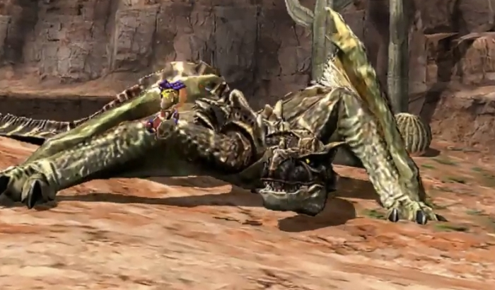 Monster Hunter 4 Ultimate Beasts - Brute Tigrex - Action