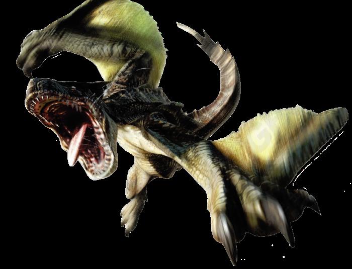 Monster Hunter 4 Ultimate Beasts - Brute Tigrex - Render