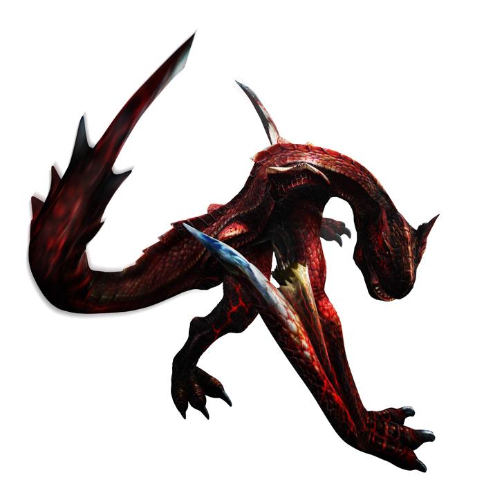 Monster Hunter 4 Ultimate Beasts - Crimson Tigrex - Render