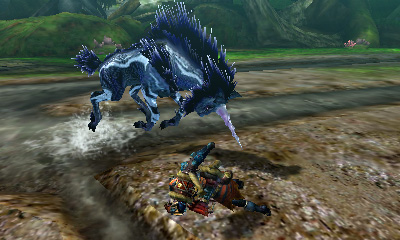 Monster Hunter 4 Ultimate Beasts - Ice Kirin - Charge