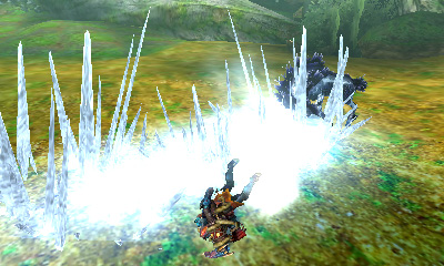 Monster Hunter 4 Ultimate Beasts - Ice Kirin - Ice Line