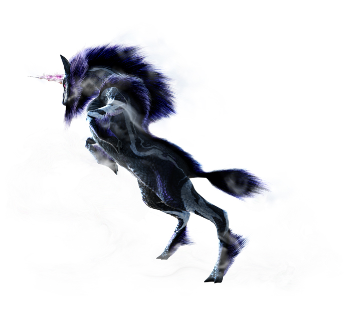 Monster Hunter 4 Ultimate Beasts - Ice Kirin - Render