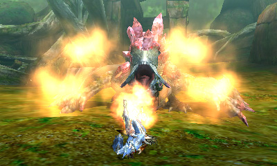 Monster Hunter 4 Ultimate - Beasts - Pink Basarios - Fire