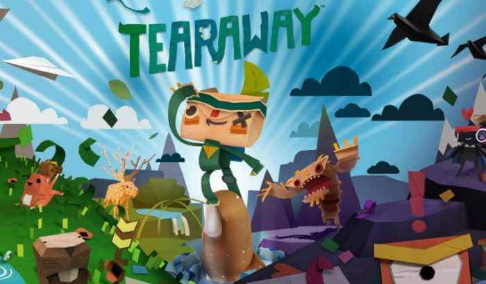 Tearaway Review - Display