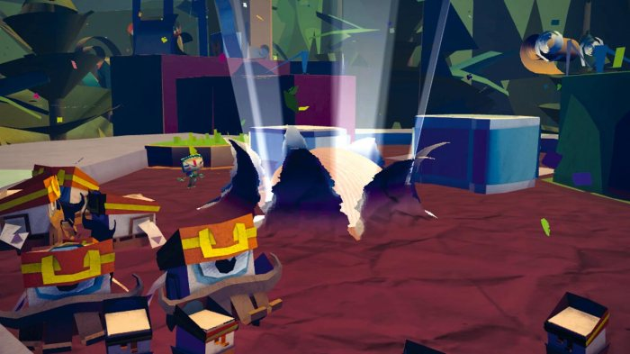 Tearaway Review - Finger