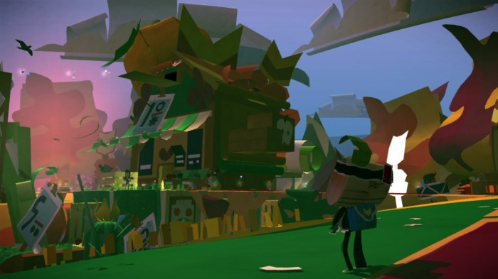 Tearaway Review - View
