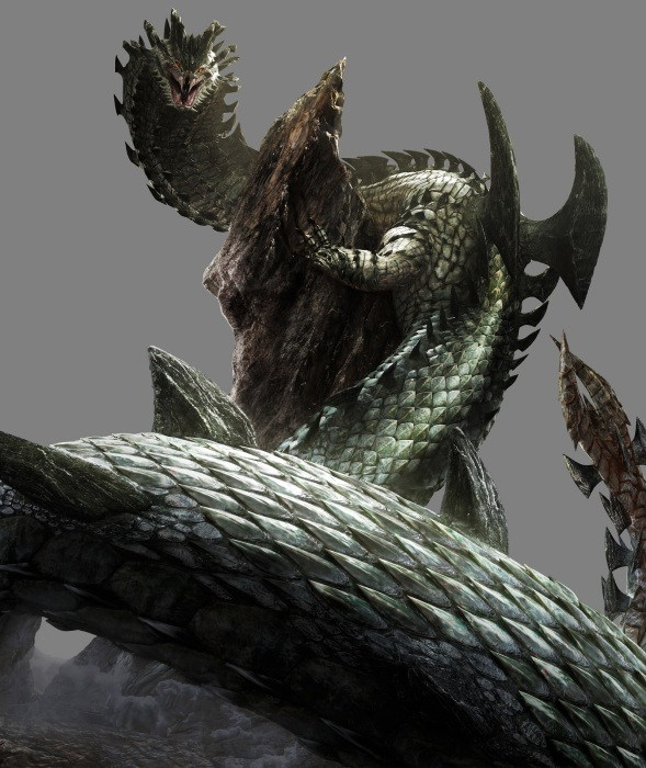 Monster Hunter 4 Ultimate Beasts - Dara Amadyua - Render