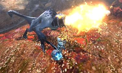 Monster Hunter 4 Ultimate Beasts - Kecha Wacha Subspecies - Fire
