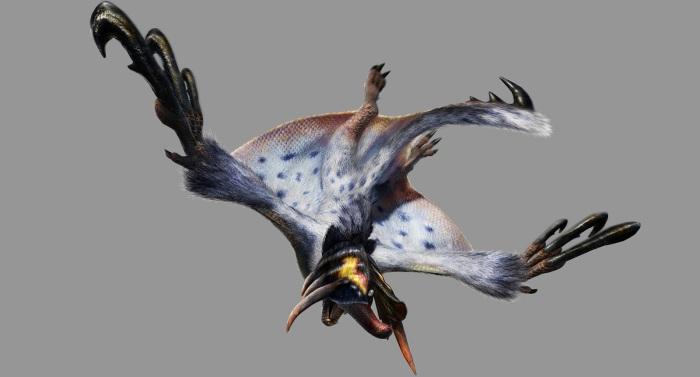 Monster Hunter 4 Ultimate Beasts - Kecha Wacha Subspecies - Render