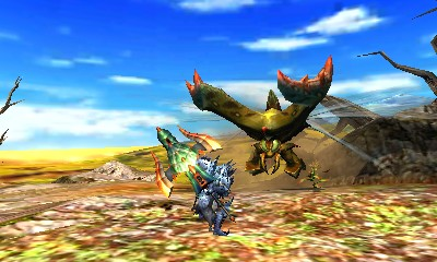 Monster Hunter 4 Ultimate Beasts - Seltas Subspecies - Charge