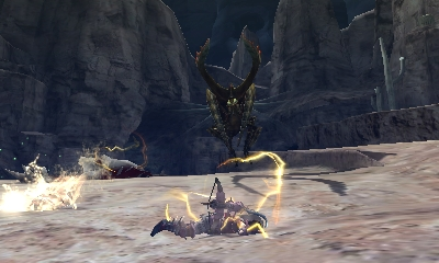 Monster Hunter 4 Ultimate Beasts - Seltas Subspecies - Paralysis