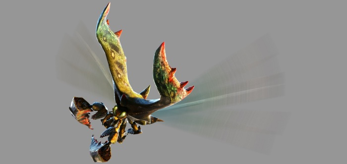 Monster Hunter 4 Ultimate Beasts - Seltas Subspecies - Render