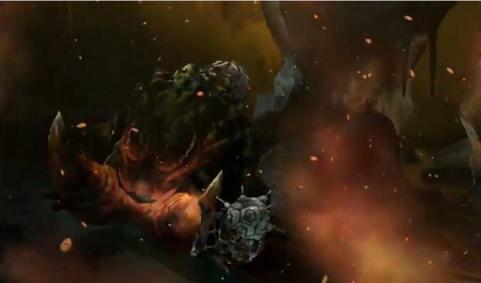 Monster Hunter 4 Ultimate - Beasts - Tetsucabra Subspcies - Explosion