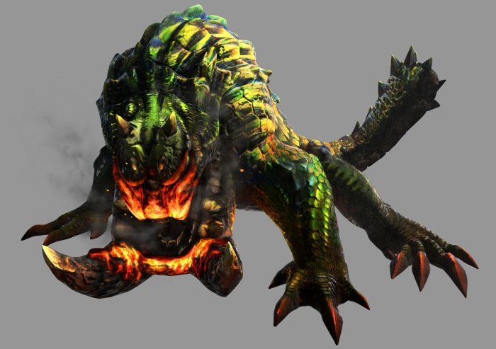 Monster Hunter 4 Ultimate - Beasts - Tetsucabra Subspcies - Render