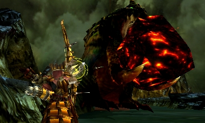 Monster Hunter 4 Ultimate - Beasts - Tetsucabra Subspcies - Rock