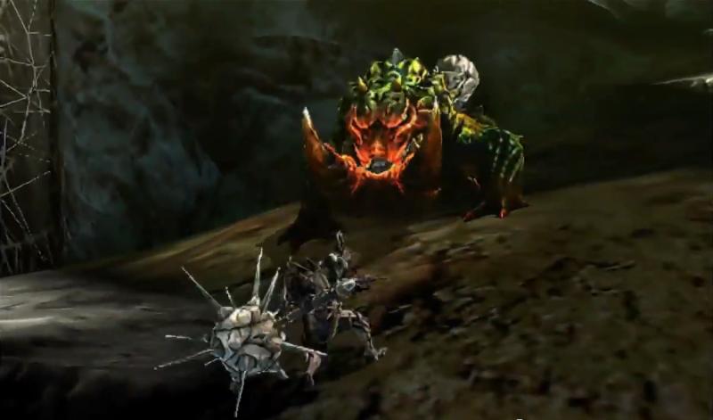 Beasts of monster hunter ultimate berserk tetsucabra