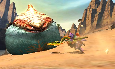 Monster Hunter 4 Ultimate Beasts - Tigerstripe Zamtrios - Inflated