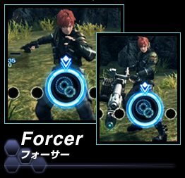 Xenoblade Chronicles X - Classes - Forcer