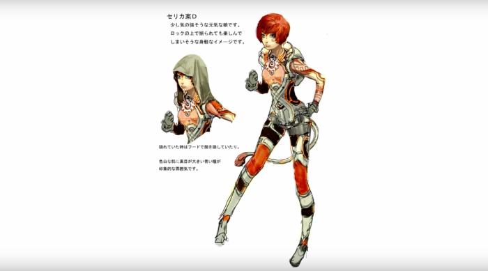 Xenoblade Chronicles X - Concept - Celica Concept