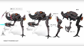 Xenoblade Chronicles X - Concept - Ganglion Mech