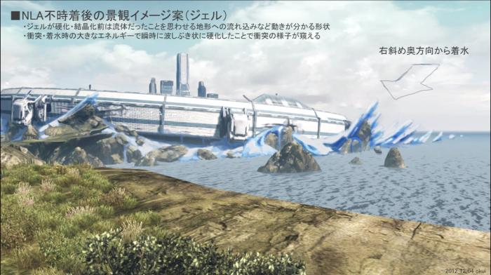 Xenoblade Chronicles X - Concept - NLA Landing Gel