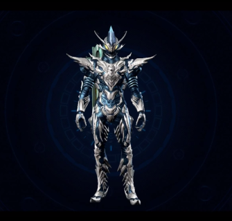 Xenoblade Chronicles X - Concept - Orphean Armour Suit