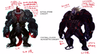 Xenoblade Chronicles X - Concept - Rock Stone
