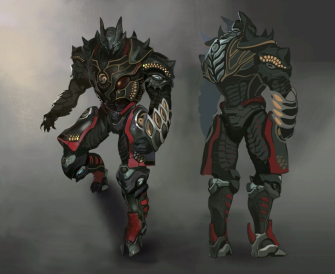 Xenoblade Chronicles X - Concept - Wrothian Deity Armour