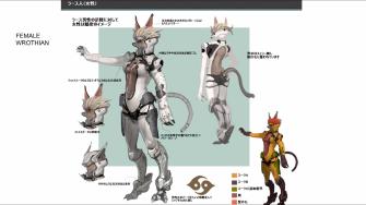 Xenoblade Chronicles X - Concept - Wrothian Female