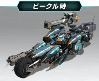 Xenoblade Chronicles X - Doll Model Formula Vehicle