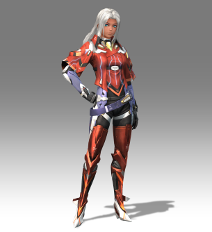 Xenoblade Chronicles X - E3 2015 - Hi Res Elma