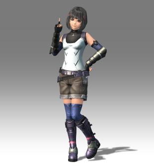 Xenoblade Chronicles X - E3 2015 - Hi Res Lyn